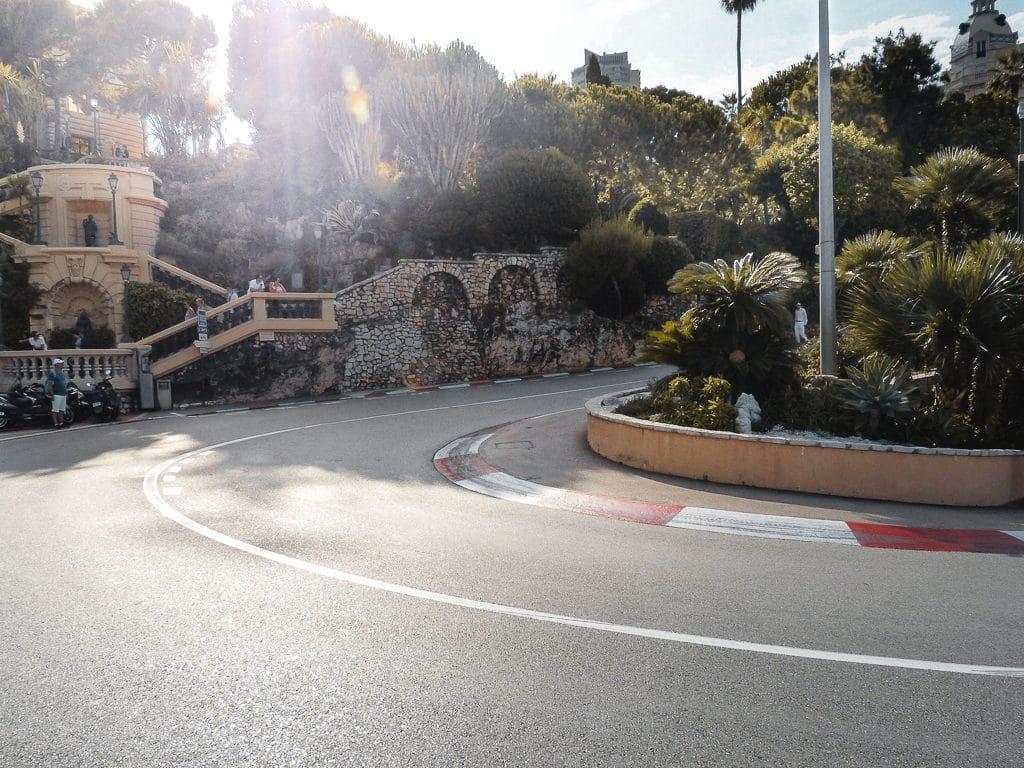 race track corners